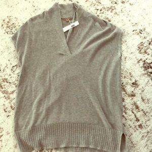 NWT Lilla P shawl collared tunic